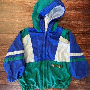 Vintage Sears Baby Jacket Colour Block